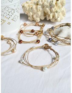 """Pack de 6 bracelets """"ÉTOILE"""""""