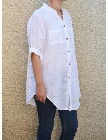 95bc241f3ea03 Meilleur de tous Chemise femme lin - Blog de mode CB68