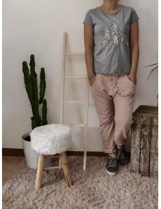 Jogg sarouel WEAR en coton rose